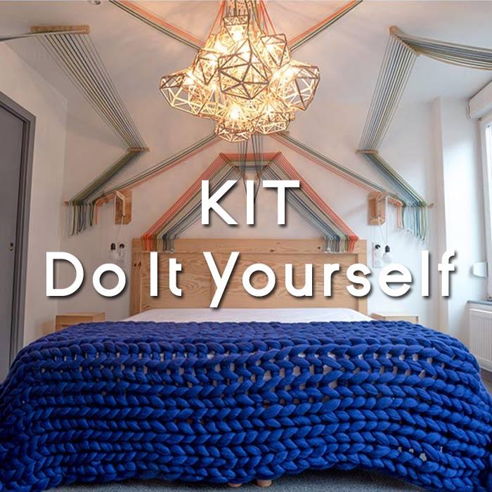 Kit de tricot géant