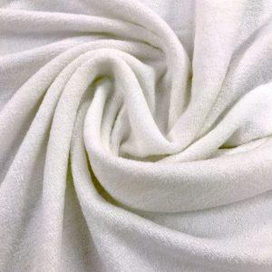 tissu bambou-eponge-de-bain-oekotex-blanc